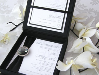 Couture Wedding Invitations and Boutique Boxed Wedding Stationery - Aristocrat
