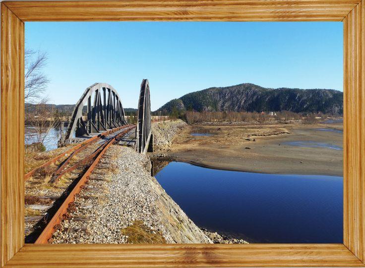 #OBRAZY W #RAMIE 25x35 cm obraz WIDOK widoki #most (5833831063) - Allegro.pl - Więcej niż aukcje.