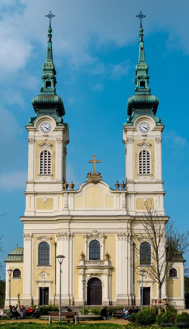 Church in Ostrava Marianske Hory /Římskokatolický farní kostel Panny Marie Královny v Mariánských Horách