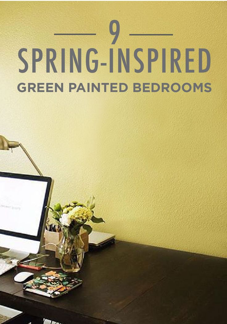 ... a time for fresh starts and new design inspiration. makes it easy to  take spring-inspired green painted bedrooms and recreate them for your own  space.
