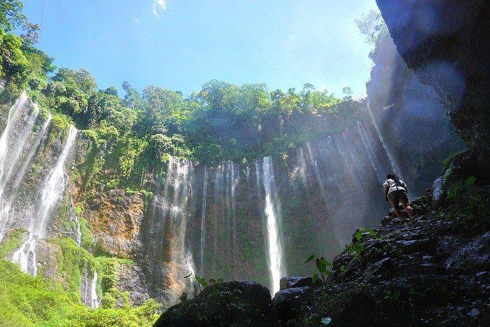 Tumpak Sewu waterfall Lumajang