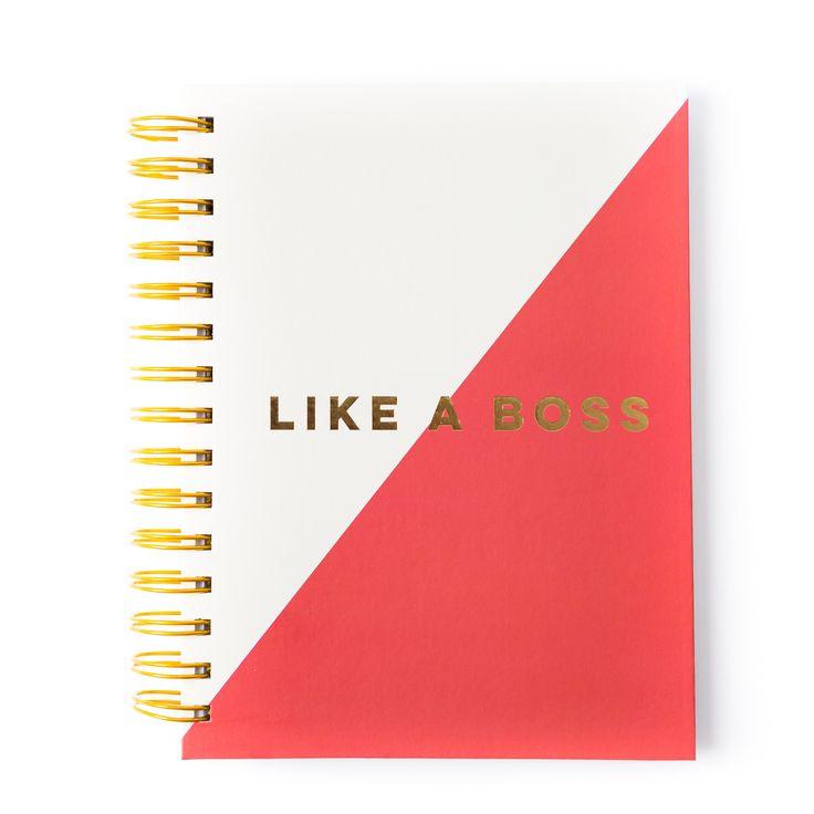 "Paper-Love ""Plaid"" Spiral Notebooks - PLPD42"