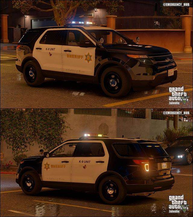 LASD K9-Units PC : @jalenliu 🌇🏙🌆🌃 #gtaiv #gtav #gta4 #gta5