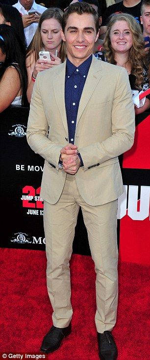 Dave Franco at the 22 Jump Street premiere http://dailym.ai/1lnZEys