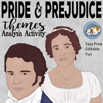 Pride and Prejudice Themes Textual Analysis Activity