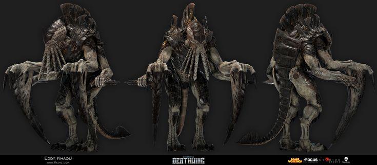 ArtStation - Space Hulk Deathwing - Broodlord Sub-strain, Eddy Khaou
