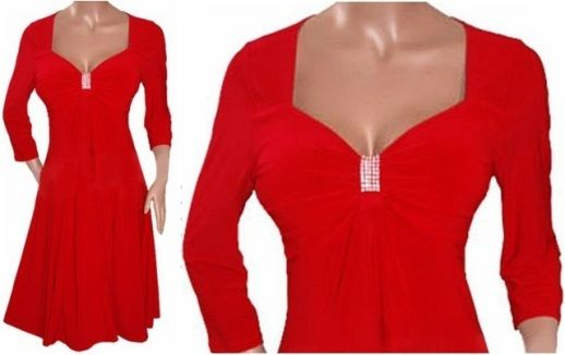 Red dress size 7 red