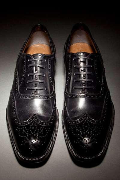 Tom Ford - Good shoes. This is how you make yourself look like an old man; old men are awesome looking.