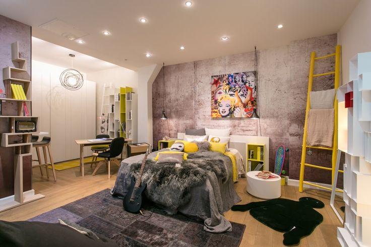 Esprit studio chez isa mo showroom rue saint didier for Chambre americaine pour ado