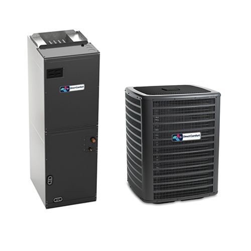 4 Ton Direct Comfort Dc Gsz140481 14 Seer Central Air Conditioner Heat Pump Multi Posit In 2020 Central Air Conditioners Heat Pump System Heating And Cooling