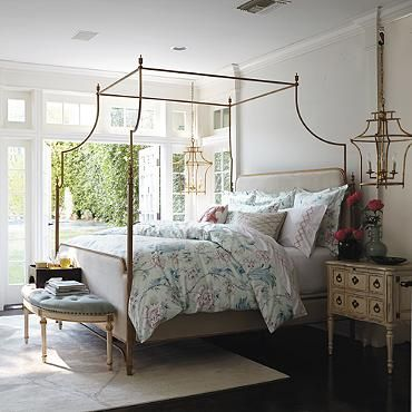 38 best color trends 2016 images on pinterest color for Hanging canopy over bed