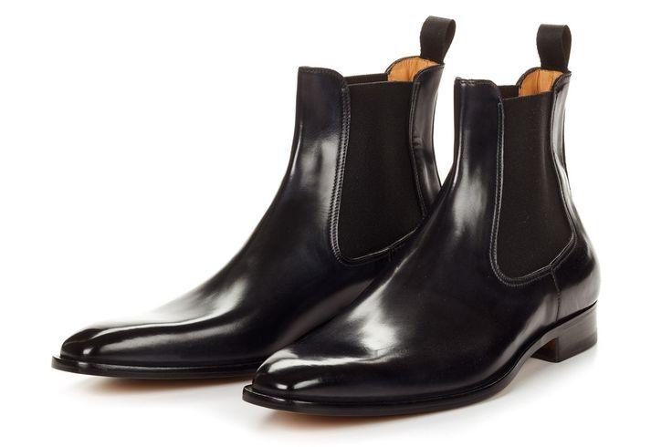 The Dean - Men's Italian Chelsea Boots | Paul Evans