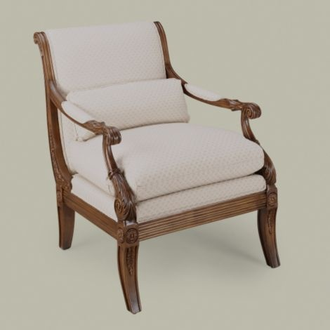 lounge chair for living room ethan allen roma chair home colonial 19779