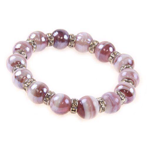 Jouel shimmering Purple Crystal Bracelet Jouel. $6.95