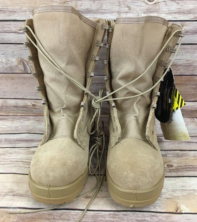 Belleville 300 DES ST steel toe desert combat boots Size 7.5R New W/Tags-No Box #Belleville #DesertBoots