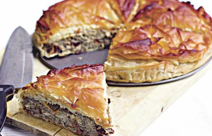Kreatopita – plăcintă grecească cu carne | Retete culinare - Romanesti si din Bucataria internationala