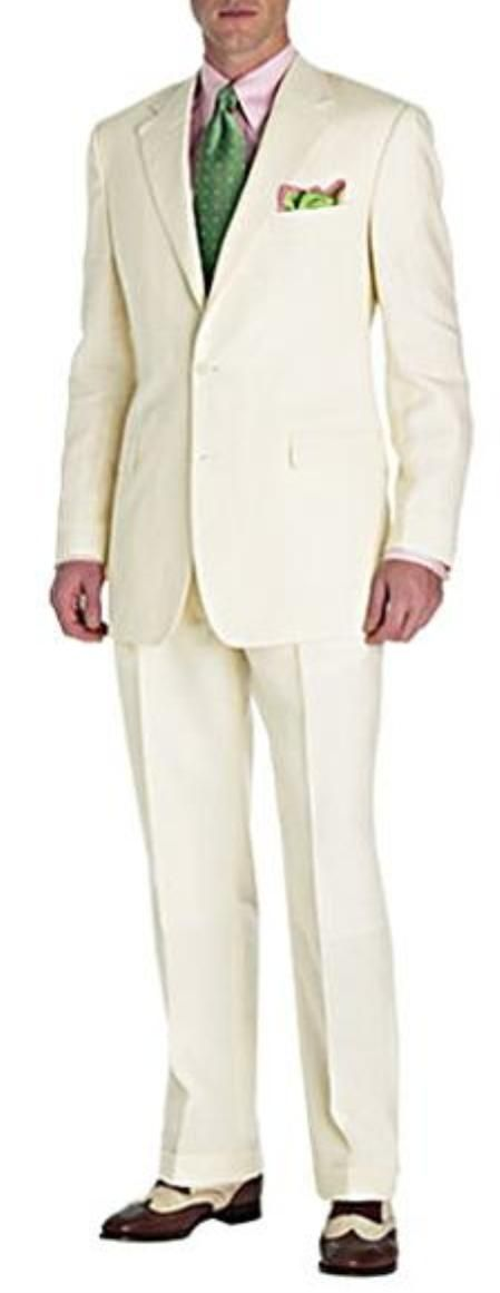 Felt and layers of canvas to mould and maintain shape of sleeve head big and tall suits.