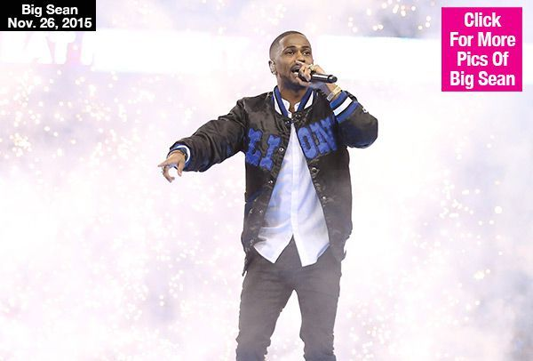 Big Sean Delivers Epic Halftime Performance At Lions Vs. Eagles Game