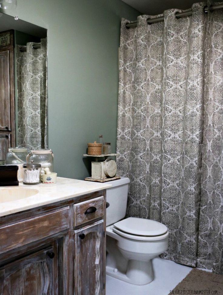 Image Gallery For Website Rustic Bathroom Makeover