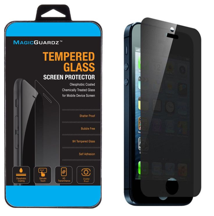Privacy Anti-Spy Tempered Glass Screen Protector Shield for iPhone 5 5S 5C  #iPhone #iPhoneProtector #iPhoneScreen #screenprotector