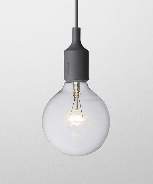 CIBONE LIGHTING(シボネライティング)のE27 ソケットペンダントランプ / E27 Socket Pendant Lamp(照明)|グレー