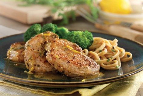 Tasty and sophisticated, our Sauteed Pork Tenderloin Medallions w/ Lemon-Garlic Sauce Recipe is a great way to bring dinner up a notch.