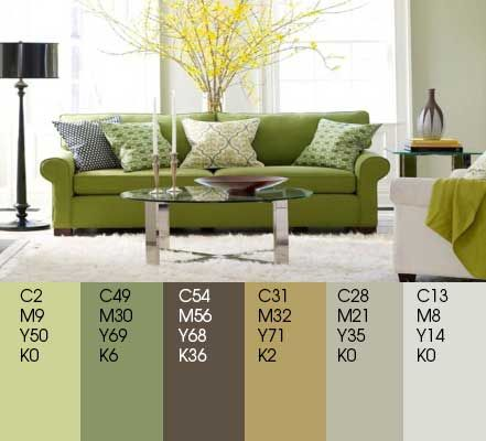Tips To Decorate Room With Green And Grey Color Gray Living Roomgreen Bedroomgreen Roomhardwood