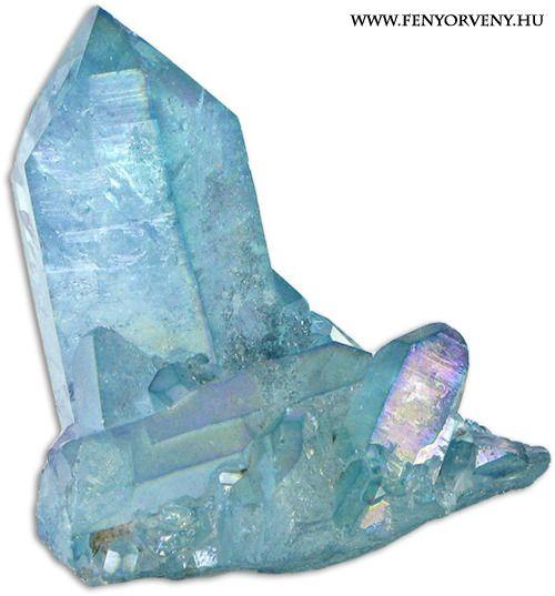 Kristálygyógyászat/Gyógyító kövek: Aqua Aura Kvarc ~ Ez a kristály segít nektek abban, hogy az új 5. Dimenziós Mátrixban, vagy kristály hálózatban megalapozzátok magatokat.  Az Aqua Aura Kristály a kristályos Föld és Víz energiáit tartalmazza. Az Aqua Aura Kristály egy tiszta, arannyal kezelt kvarckristály. Ez egyesíti a tiszta kvarc fényét a Felemelkedés Arany Sugarának életerejével, hogy megalkossa a bolygó tiszta kék színét. Ez a kristály segít nektek abban, hogy az új 5. Dimenziós…