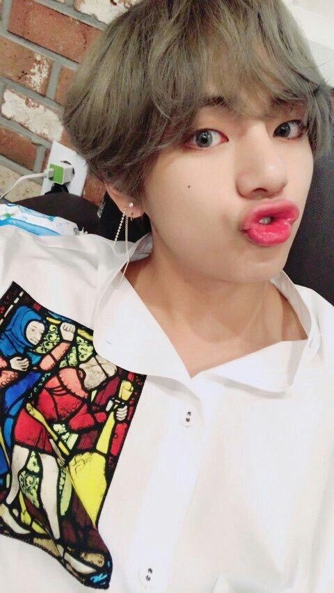 Picture Bts Taehyung Selca Update Fancafe 180716