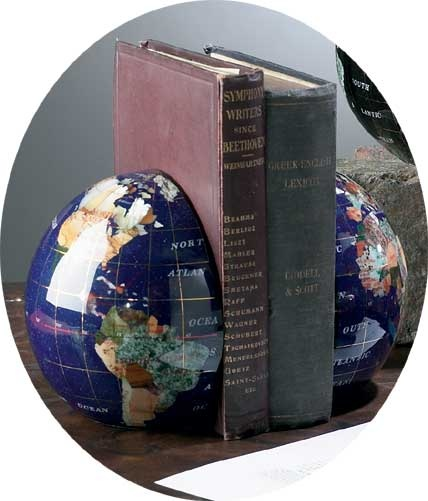 19 best gemstone globes images on pinterest globes gem and gemstone gemstone world globes globes 6 inch diameter gem stone globe bookends gumiabroncs Image collections
