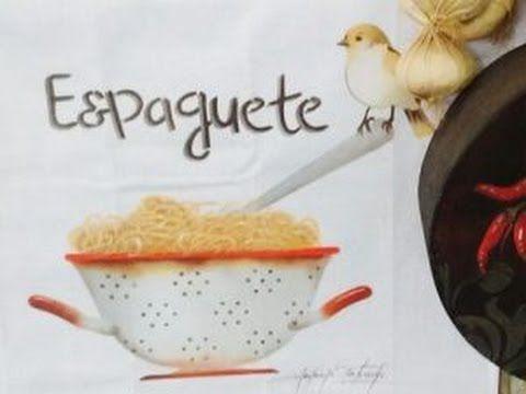 Stencil OPA -22/03/17 - Mayumi Takushi - Espaguete e Pássaro no pano de ...