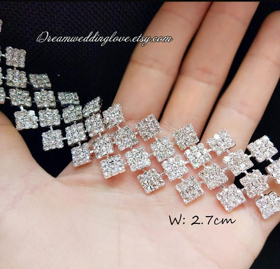 Hey, I found this really awesome Etsy listing at https://www.etsy.com/listing/508430208/high-quality-diamond-rhinestone-trim-12