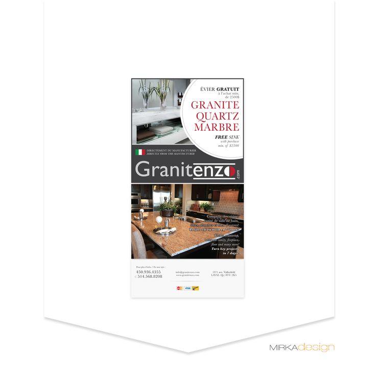 Publicité pour Granitenzo