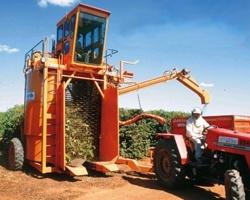 Colhedoras Jacto  Colhedora Ktr Advance - Com um projeto robusto e arrojado, a KTR Advance foi desenvolvida para o cafeicultor que busca maior produção diária com grande eficiência na colheita