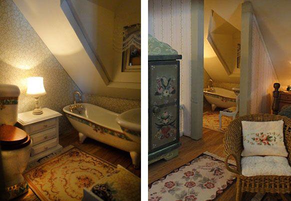 163 Best Dollhouse Bath Amp Laundry Room Ideas Images On