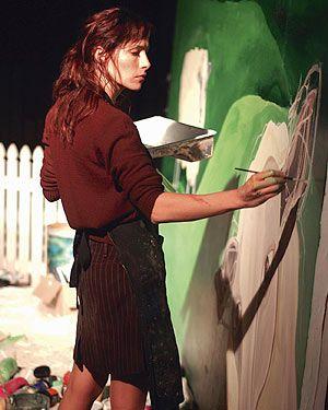 Claudia Karvan, as Frankie in the best Australian drama, Love My Way.