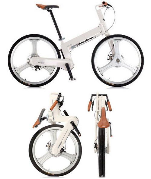 iF Mode Folding Bike, Bike without oily chain