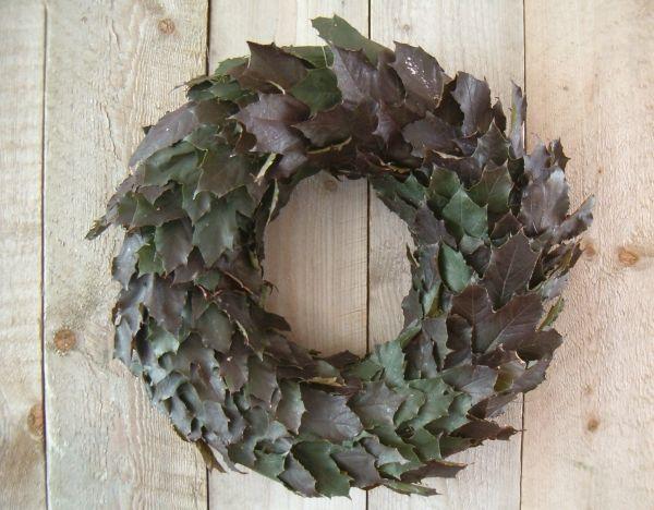 krans van esdoorn-bladeren