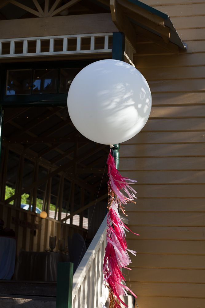 Get the look: the Interiors Addict guide to wedding styling Bespoke Balloonery, wedding balloons, pink and navy, Athol Hall, wedding reception, Jen Bishop, wedding styling, tassels