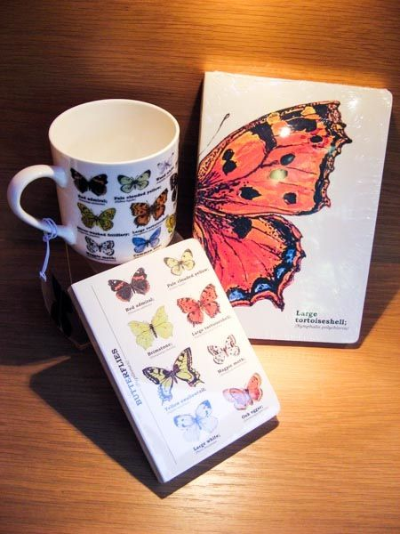 #Butterflies - notebooks and lovely bone china mug.  Available at Best of Friends Gift Shop in the lobby of Winnipeg's Millennium Library. 204-947-0110  info@friendswpl.ca