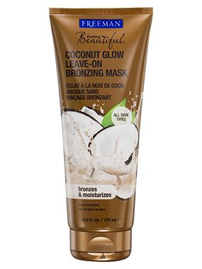 Coconut Glow Leave-On Bronzing Mask from Freeman | Find more cruelty-free beauty @Quirkist |