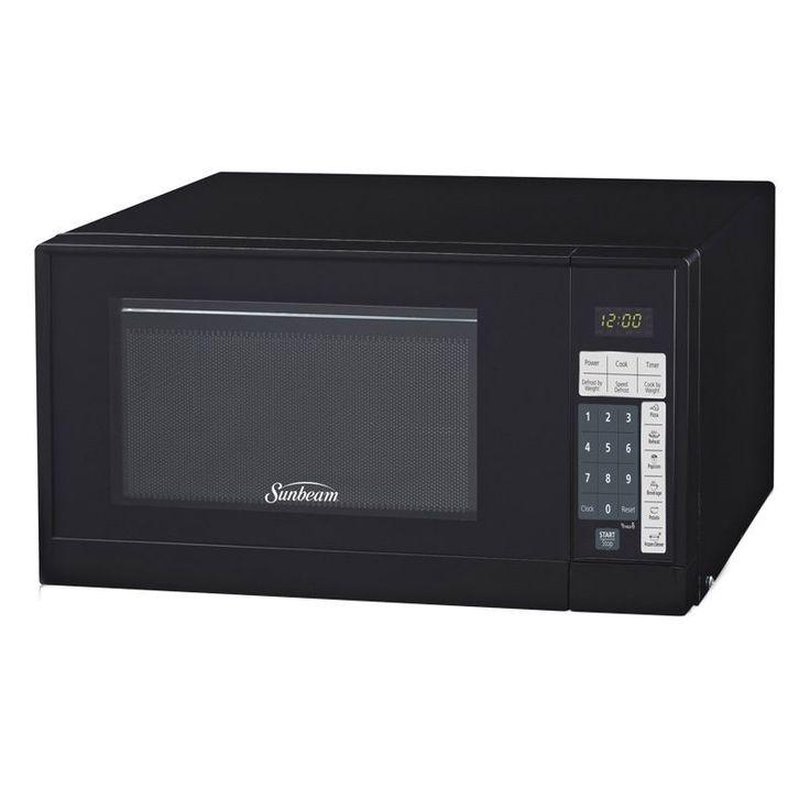 Sunbeam Sgsr902 Black 9cu Microwave Oven Size Med Gl