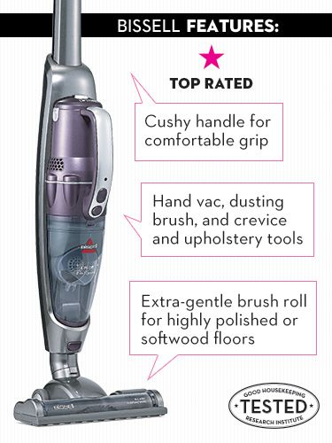 Best of the Test: Top-Performing Stick Vacuums  Bissell Lift-Off 2-in-1 Cyclonic Cordless $120