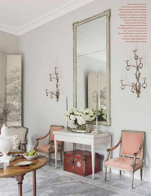 {décor inspiration | a pale perfect palette : toile dusky lilac} by {this is glamorous}, via Flickr