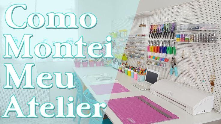 Como Montar um Atelier   DIYs PEGBOARD   Home Office   reforma parte 2