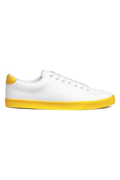 Sneaker   Weiß Gelb   HERREN   H M DE   Zach s Schlick   Pinterest ... 8e725e77f7