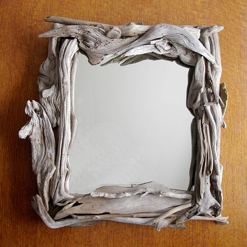 25 best ideas about old mirror crafts on pinterest diy for Wooden mirror frames for crafts