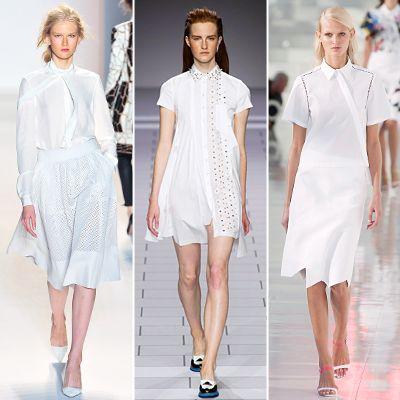 5 Cara Tampil Cantik dengan Pakaian Serba Putih