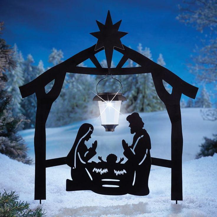 how to make nativity lantern