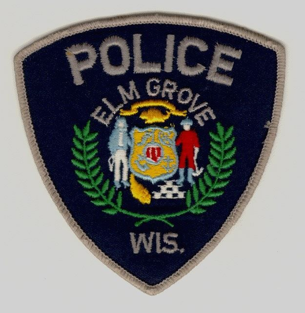 Us State Of Wisconsin City Of Elk Grove Police Department Patch Police U S States Police Badge